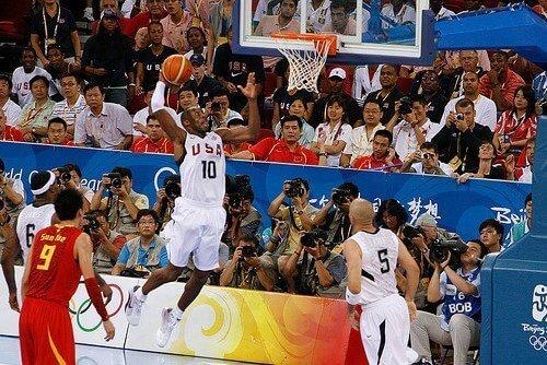 Kobe Bryant Dunking Team USA