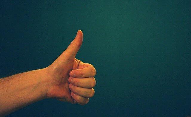 Thumbs Up Success